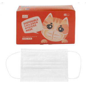 Box of 50 children's disposable masks 3-ply for comfortable, strength, and breathability - Nationwide Medical Supply