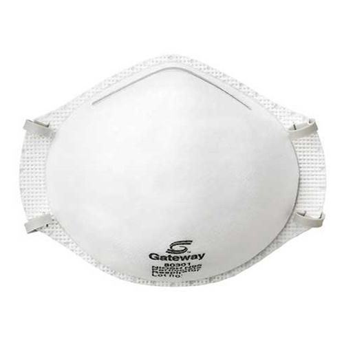 TruAir N95 respirator with metal nose piece - Nationwide Medical Supply